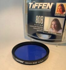 Tiffen 55mm 80B Blue Color Correction Filter *NEW*