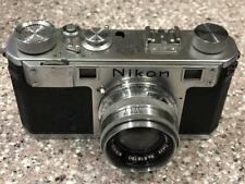 ULTRA RARE WELL RESERVED NIKON M RED SYNC RANGEFINDER CAMERA.