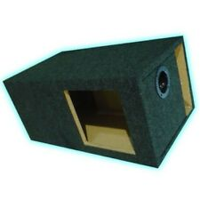 "15"" Single Slot Vent Ported Subwoofer Box Enclosure L7 L3 Square hole Kicker"
