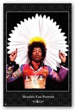 ROCK MUSIC POSTER Jimi Hendrix Fan Portrait