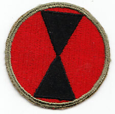7th Infantry Division V-2 US Army WW2