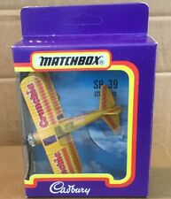 MATCHBOX - CADBURY'S CRUNCHIE - STEARMAN SB-39 SMALL SCALE - FLYING CIRCUS