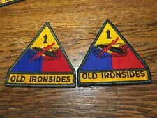 Lot Of 5: U.S. Army 1st Armored Division. Old Ironside.