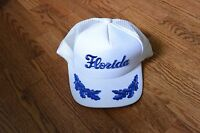 Vintage Florida Trucker Cap Hat Snapback with Leaves