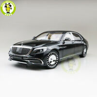 1/18 Benz Maybach S CLASS S650 Almost Real Diecast Model Car Toys Gifts Black