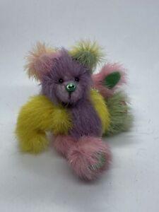 Handmade Miniature Teddy Bear. Beats By Ann