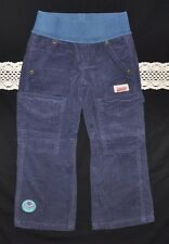 NWT Naartjie Kids Knit Waist Cord Pant w/ Badge (Size 4, S) Abyss