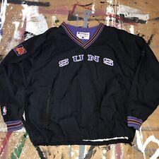 90s Champion Phoenix Suns NBA Warm Up Windbreaker Pullover Jacket XXL VINTAGE