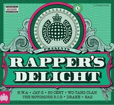 MINISTRY OF SOUND - RAPPERS DELIGHT (2015) NEW SEALED 3CD