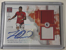 2019 impeccable EPL /25 Marcus Rashford Match Worn Patch Auto Manchester United