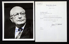 US SENATOR JAMES O EASTLAND Signed AUTOGRAPH Photo / MISSISSIPPI SEGREGATION