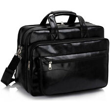 Pilot Business Executive Briefcase Laptop Work Bag Shoulder Messenger Bags Black