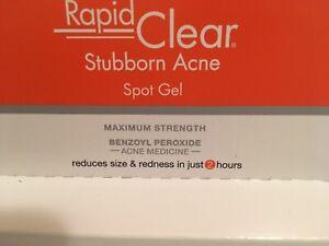 Neutrogena Rapid Clear Stubborn Acne Gel /Like  On The Spot Clear proof