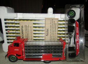 Danbury Mint 1938 Coca Cola Delivery Truck 136 Coke Cases & Accessories 1/24 '95