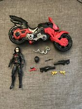"GI Joe Classified BARONESS 6"" Figure w/ COIL BIKE Target Exclusive Cobra Island"