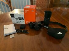 Sony Alpha α6000 24.3MP Digital SLR Camera with 16-50mm and 55-210mm OSS lens