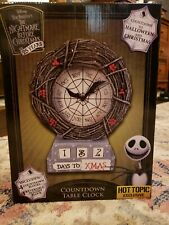 Nightmare before Christmas Clock 25th Anniversary Limited Edition