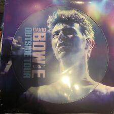 David BOWIE Outside Live Lp Picture Disc