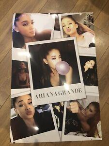 Ariana Grande Collage Photo Laminated Wall Poster Print 3' X 2'