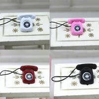 Modèle de maison de poupée miniature accessoires poupée mini-téléphone fixe *BB