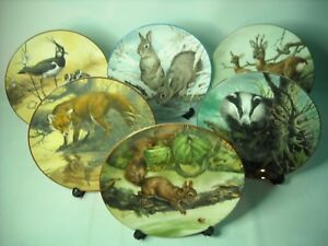 Choose ONE or more WATER'S EDGE Plates Wedgwood Animal Plate