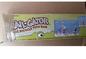 Trail gator bike tow bar