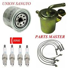 Tune Up Kit Filters Spark Plugs For CHRYSLER LEBARON L4: 2.6L; 2 Bbl 1982-1985