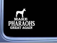 "Pharaoh Hound Maga flag L703 Dog Sticker 7"" decal"