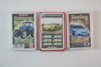 3 x Auto Quartett Traktoren Tuning Top Ass S1379