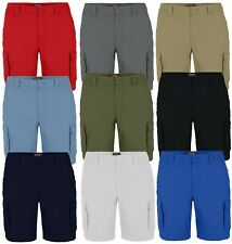 westAce Mens Cargo Combat Shorts Casual Work Wear Cotton Chino Half Pants