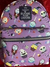 LOUNGEFLY DISNEY NIGHTMARE BEFORE CHRISTMAS CANDY MINI BACKPACK NWT