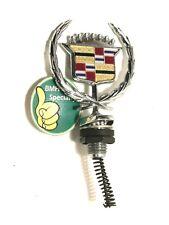 ✅ 1977-1992 Cadillac Brougham Fleetwood Deville chrome Hood Ornament Emblem logo