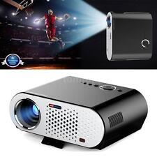 "GP90 HD 1080P 280"" LED Projector 3D Home Theater Cinema HD USB VGA AV 3200"