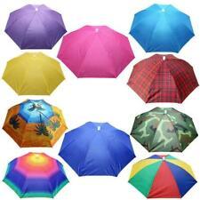Sun Umbrella Hat Outdoor Hot Foldable Golf Fishing Head Camping Cap A5S6