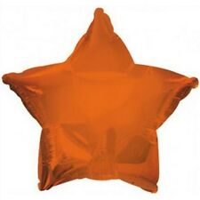 Single Star Shaped Metallic Foil Helium Balloon Many Colours Birthday