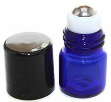 Essential Oil Roller Bottle 144-1 ml COBALT BLUE Glass Micro Mini Roll-on Glass