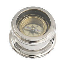 Libra - Brass and Nickel Compass