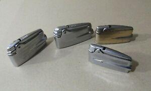 Ronson Varaflame Lote 4 encendedores Lighter vintage para piezas not work