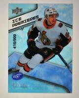 2019-20 ICE Base Ice Premieres Level 4 #62 J.C. Beaudin RC /999 Ottawa Senators