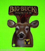 BIG BUCK HUNTER Stern 2010 ORIGINAL NOS Pinball Machine Plastic PROMO KEYCHAIN