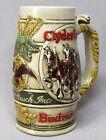 Vintage 1983 Budweiser Cameo Wheatland CS58 Stein CS 58 Mug