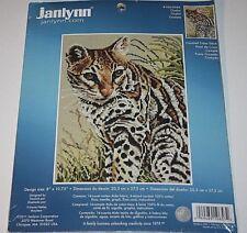Janlynn Counted Cross Stitch Kit - Ocelot #106-0058  New