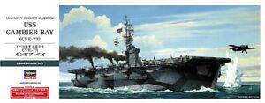 1/350 HASEGAWA USS GAMBIER BAY CVE-73