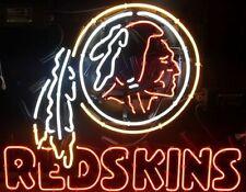 "New Washington Redskins Beer Neon Light Sign 24""x20"""
