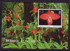 2004 Jersey. Orchids MS 1149 MNH
