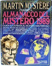 MARTIN MYSTÈRE almanacco del mistero 1989 buono/ottimo