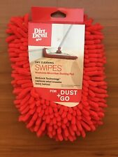 Dirt Devil Cleaning Swipes Washable Microfiber Dusting Pads AD51010 Dust+Go