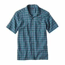 Patagonia Casual Button Down Men's A/C Shirt Adrift True Teal Size X-Small New