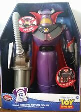 "Disney Store ZURG TALKING ACTION FIGURE 15"" with 12 new phrases - BRAND NEW!!"