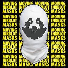 Halloween Costume Rorschach Moving Inkblot Mask - Nightmare